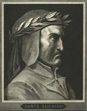 Portrait of Dante Alighieri, (c1890).