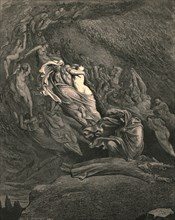 I through compassion fainting, seem'd not far from death, c1890.