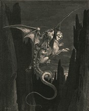 New terror I conceived at the steep plunge', c1890.