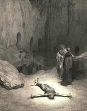 That pierced spirit...was he who gave the Pharisees council, c1890.