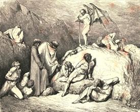 Call thou to mind Piero of Medicina, if again returning', c1890.