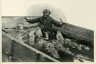 M. Pernelet and his Pets', 1902.