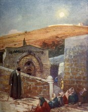 The Chapel of the Tomb of the Virgin at the Foot of the Mount of Olives', 1902.