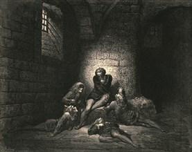 """""""Then, not to make them sadder, I kept down my spirit in stillness""""', c1890."""