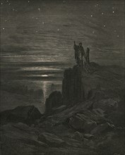 Thence issuing we again beheld the stars', c1890.