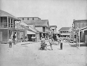 Street in Key West, Florida', c1897.