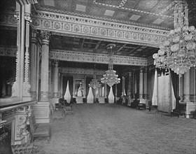 East Room of the White House, Washington, D.C.', c1897.