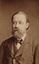 Portrait of the composer Bedrich Smetana, 1878.
