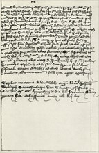 Hus' transcript of Wycliffe's treatise', early 15th century, (1947).