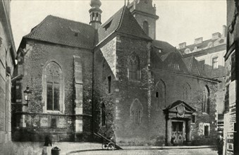 St Martin in the Wall...where the communion sub utraque was served for the first time...', (1947).
