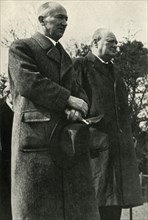 Winston Churchill and President Benes', c1940s, (1947).