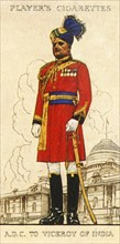 Aide-De-Camp to the Viceroy of India', 1936.