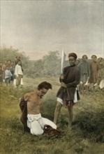 Execution Capitale', (Capital Punishment), 1900.