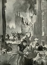 The Sack of Louvain', (1919).
