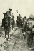 The Field-Marshal Thanking His Troops', (1919).