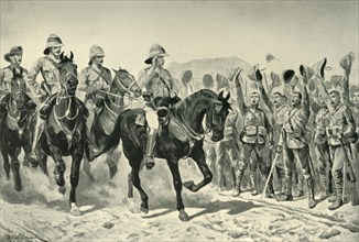 Lord Roberts Cheered By the Troops on his Arrival at Wonder RIver', (1901).