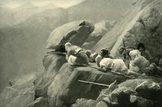 An Ambuscade', (1901).