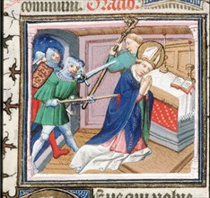 The Martyrdom of Saint Thomas Becket , 1460s.