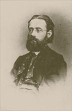 Portrait of the composer Bedrich Smetana, 1866.