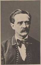 Portrait of Karel Sabina (1813-1877) .