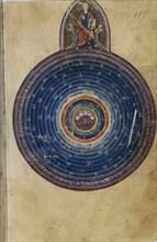 Miniature from the L'Image du Monde by Gossuin de Metz, 13th century.