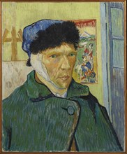 Autoportrait à l'oreille bandée (Self-Portrait with Bandaged Ear), 1889.