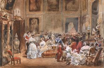 A Soirée by Duke of Orléans (1810-1842) in the Pavillon de Marsan.
