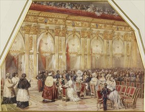 Marriage of Prince Ferdinand Philippe d'Orleans and Duchess Helene of Mecklenburg-Schwerin, 1837.
