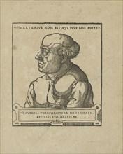 Philippus Theophrastus Aureolus Bombastus von Hohenheim (Paracelsus), ca 1538.
