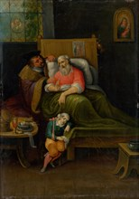 To Visit the Sick (Seven Works of Mercy), c. 1620.