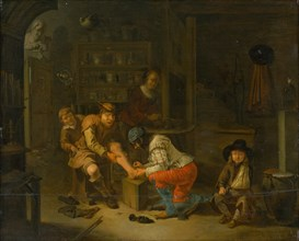 At the Apothecary, 1656.