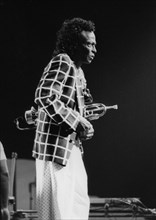 Miles Davis and his Fusion Group, North Sea Jazz Festival, The Hague, 1991.