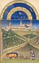 March - the Château de Lusignan, 15th century, (1939). s