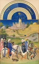 August - the Château d'Étampes, 15th century, (1939).