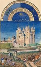 September - the Château de Saumur