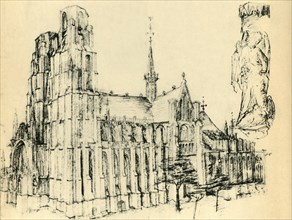 Cathedral and St Michael, c1460, (1943).
