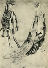 Gentleman and Lady in Court Costume