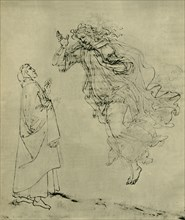 Dante and Beatrice, 1492-1495, (1943).