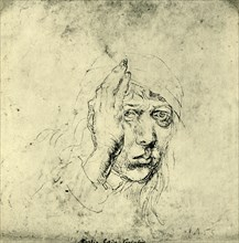 Self portrait with a Bandage', 1492, (1943).