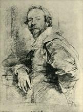 Portrait of Adam de Coster', 1627-1635, (1943).