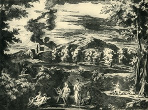 Landscape with Orpheus and Eurydice, mid 17th century