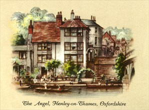 The Angel, Henley-on-Thames, Oxfordshire', 1936.
