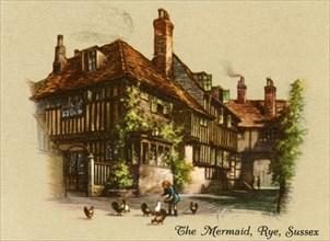The Mermaid, Rye, Sussex', 1936.