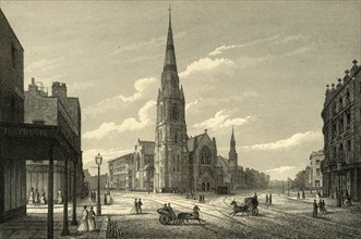 'Rowland Hill's Chapel & Schools, Westminster Bridge Road'