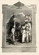 'Lord Cornwallis receiving the Sons of Tippoo Saib', (c1780s)