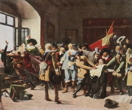 The Defenestration of Prague, 23 May 1618