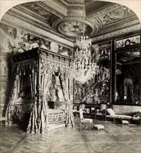 'Reception Room of Catherine de Medicis, palace of Fontainebleau