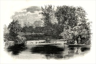 'At Cleeve, On the Thames'