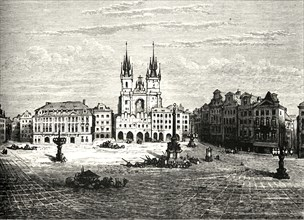 'The Great Square, Prague'