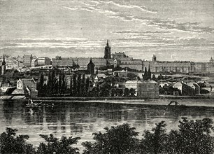 'Palace of the Bohemian Kings and Cathedral of Hradschin, Prague'